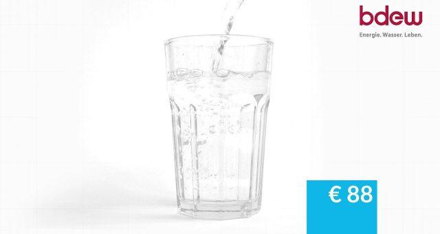 Trinkwasser – Preise und Gebühren